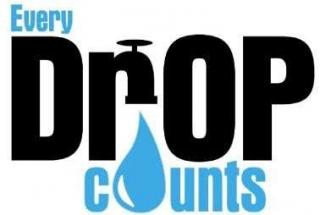 every drop counts, conserve water